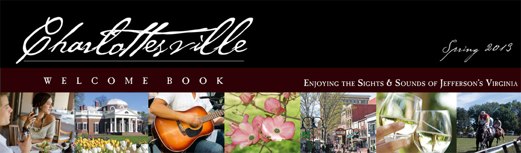 Charlottesville Welcome Book Spring 2013