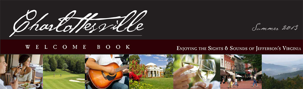 Charlottesville Welcome Book Summer 2013